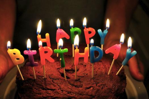 Je fête bientôt mon anniversaire !