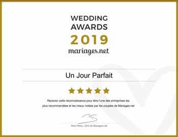 Recommandé sur mariages.net en 2019