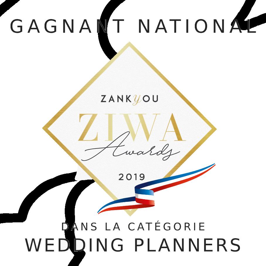 Un Jour Parfait - Gagnant Régional et National 2019 Zankyou dans la catégorie Wedding Planners