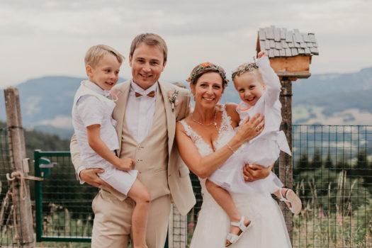Mariage Sarah & Damien + Baptêmes Ezio & Lida